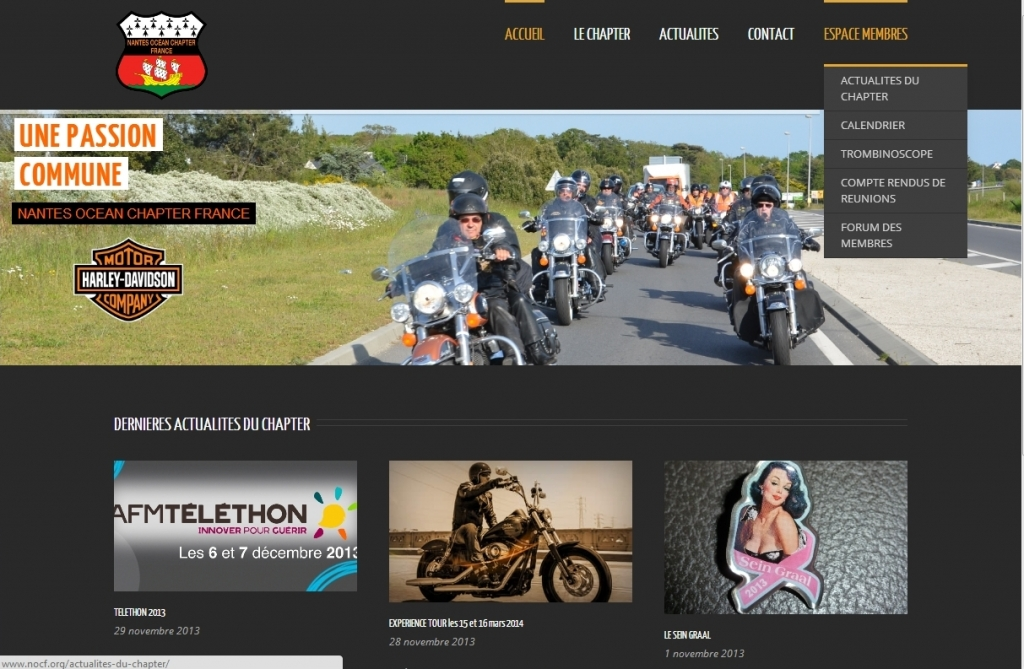 Nantes Ocean Chapter Harley Davidson