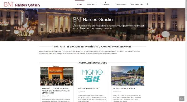 Création du site Internet BNI Nantes Grasin
