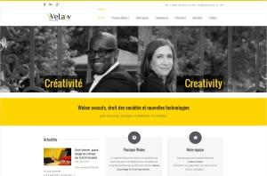 Site Internet Welaw Avocats
