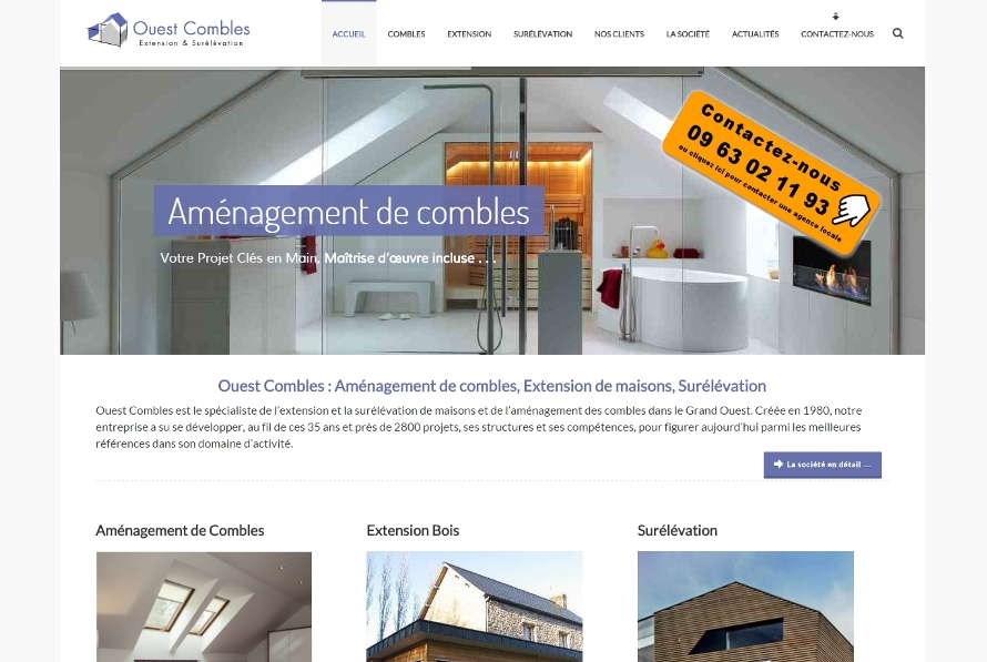 Site Wordpress OuestCombles