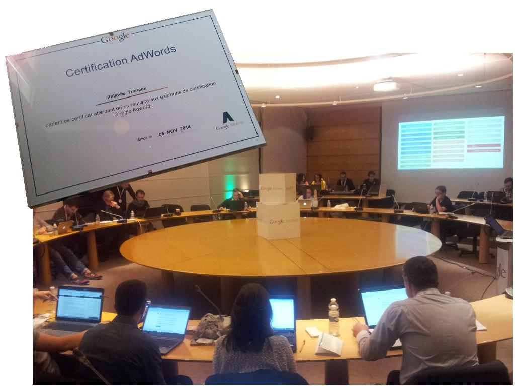 Certification Google Partner Adwords Nantes CCI