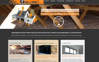 Site Internet Menuiserie Guillard Blain La Baule
