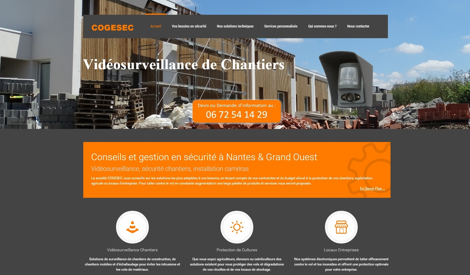 Site Wordpress Nantes COGESEC
