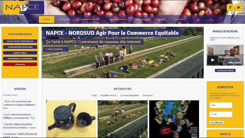 NAPCE Site Internet Nantes
