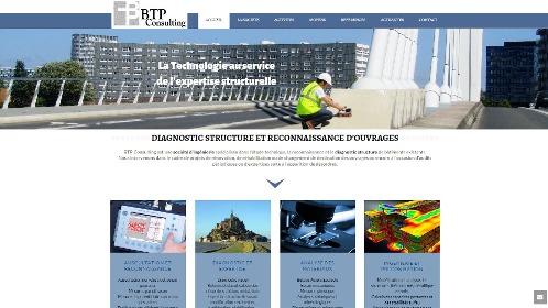 BTP Consulting Site WordPress - Nantes