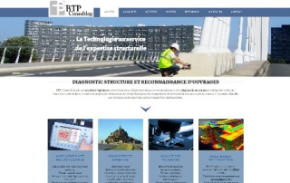 BTP Consulting Site Wordpress - Nantes