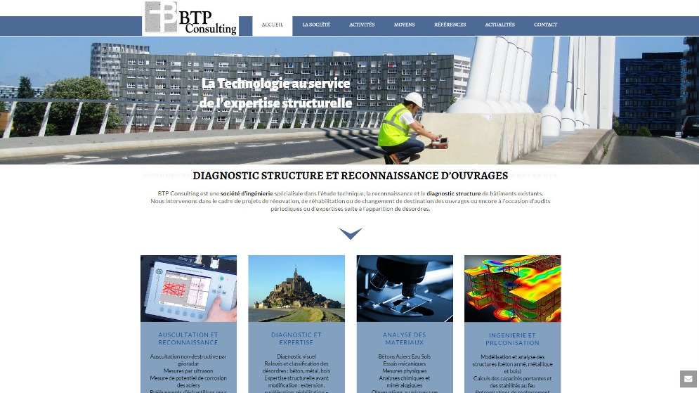 BTP Consulting Site WordPress