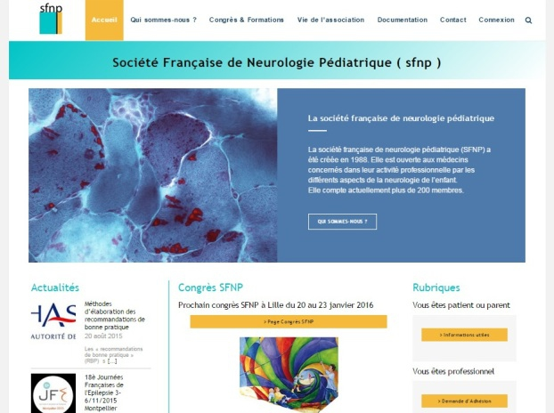 Création site WordPress Nantes Association