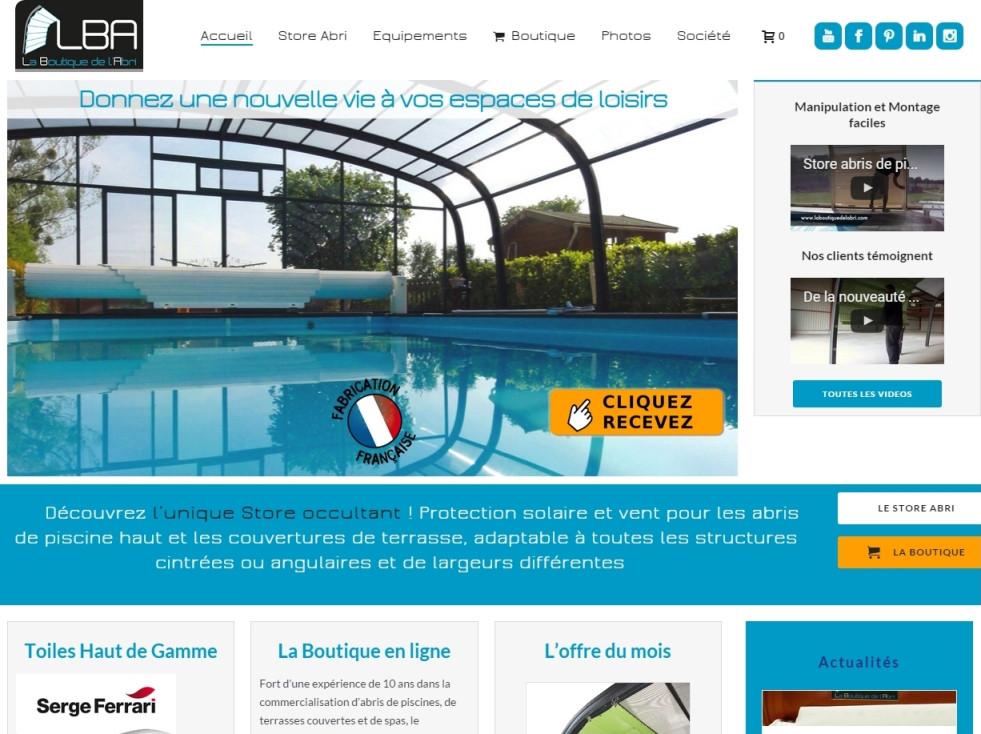 Wordpress Nantes Woocommerce La boutique de l'abri