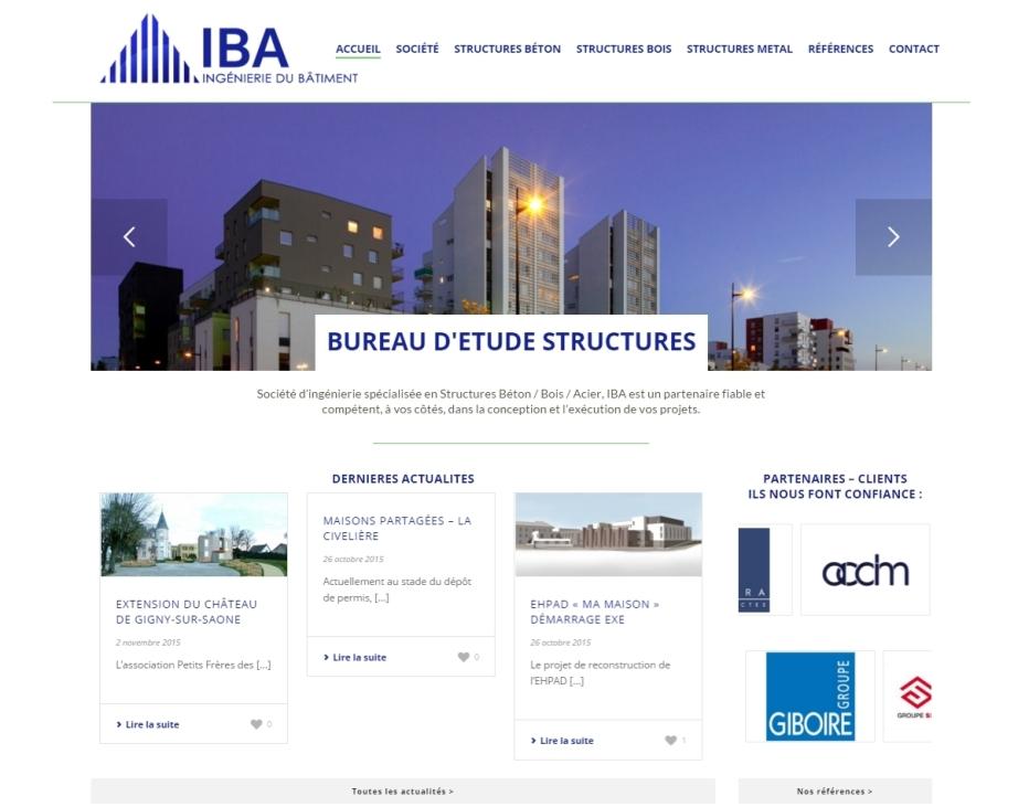 Création site Internet IBA Nantes