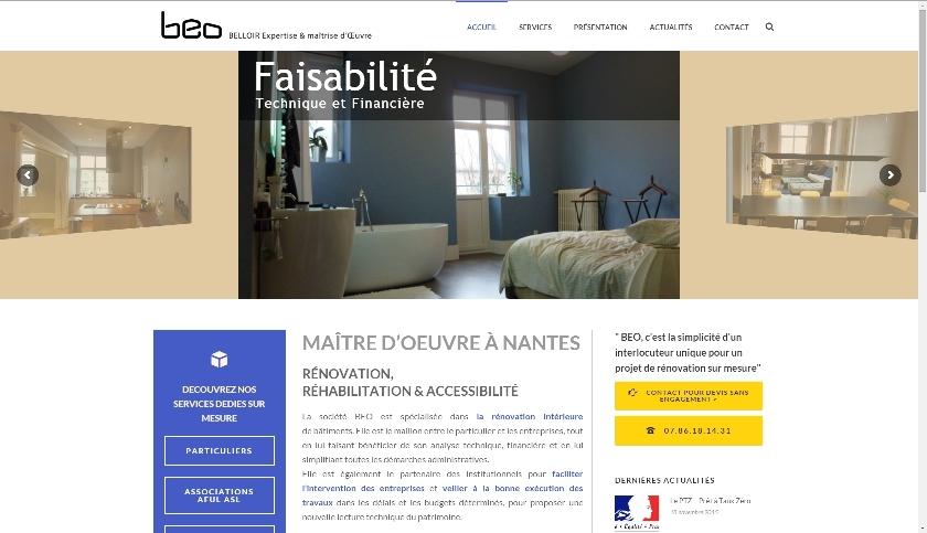 BEO Site Internet Nantes