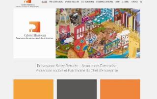 Cabinet Beneteau Refonte Site Internet Nantes