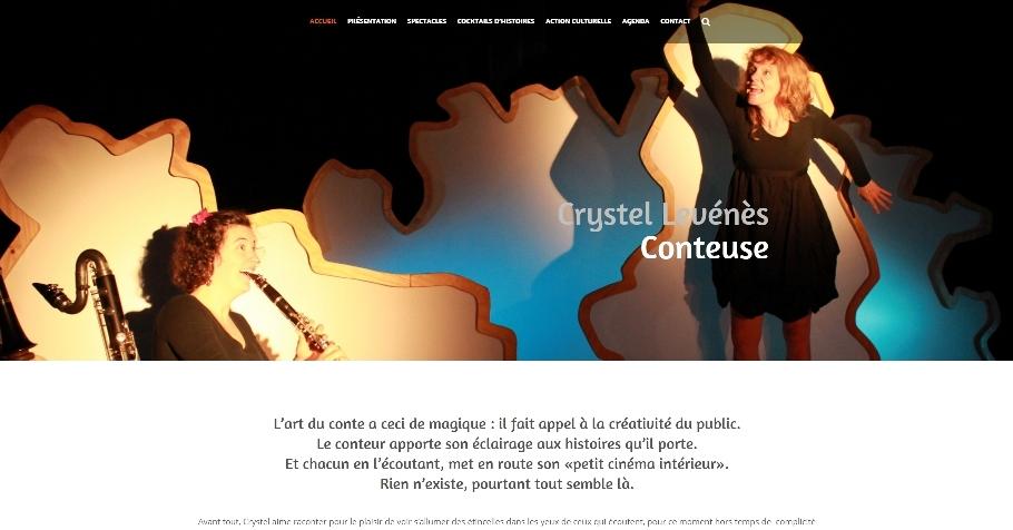 Creation Site Internet Nantes Crystel Levenes