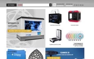 Millenium3d Store Site Wordpress Woocommerce Nantes