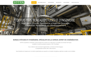 SOTEN Site Wordpress Nantes