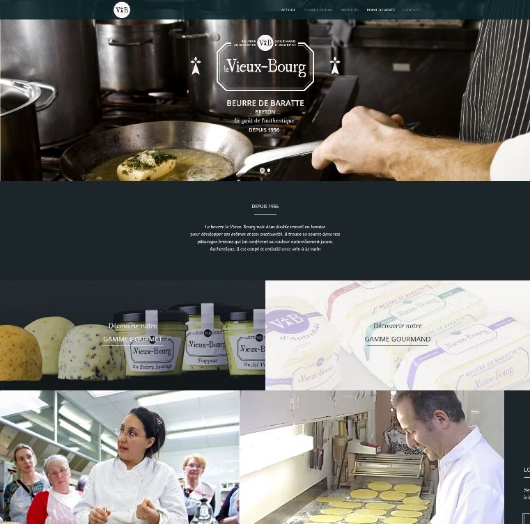 Site WordPress Le Vieux Bourg