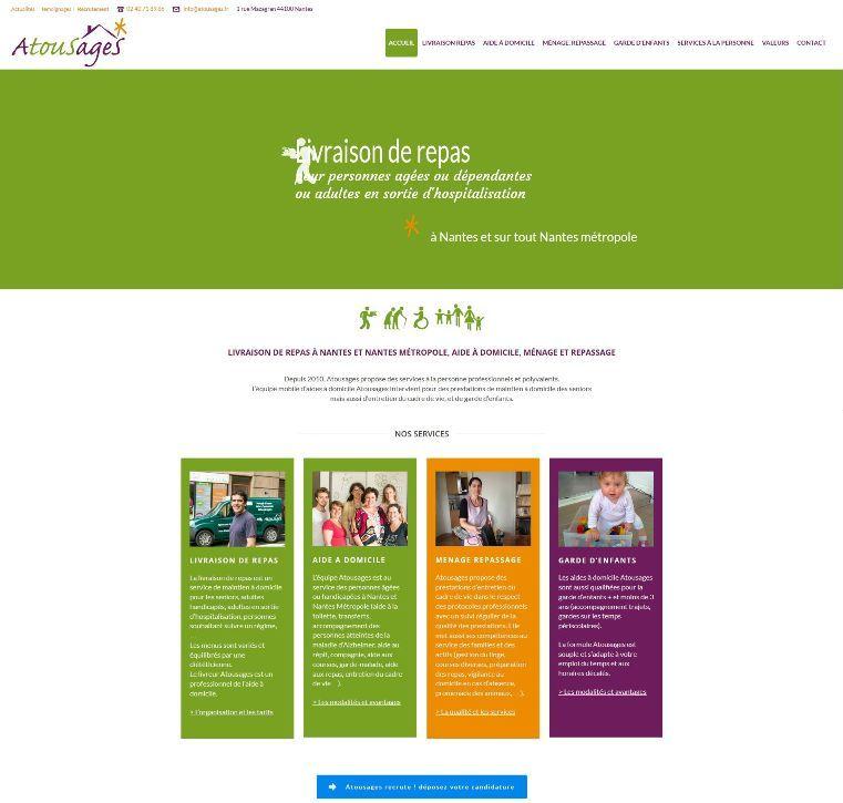 Wordpress Nantes Atousages Services a la personne