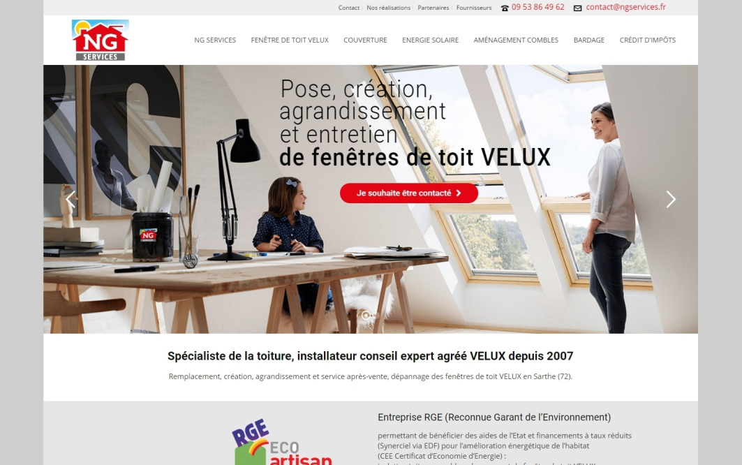 Wordpress Le Mans NG Services