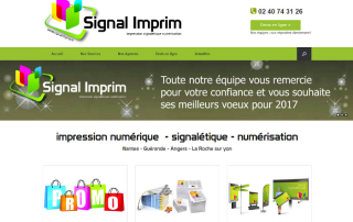 Agence Web Wordpress Nantes Signal Imprim