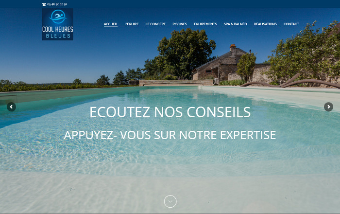 Creation site internet Nantes Wordpress Saintes