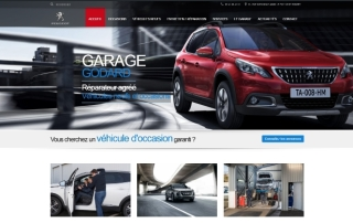 Site Internet Cholet Garage Godard