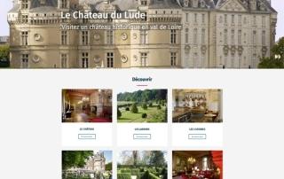 Site Internet Wordpress Chateau du Lude - Sarthe