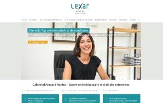Site Internet Wordpress Lexar Avocat Nantes
