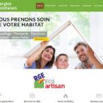 site vitrine Wordpress Energies Choletaises Cholet