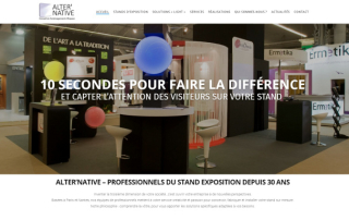 Agence Web Nantes Site vitrine Stand Alternative