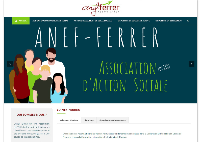 Site Association Nantes Anef Ferrer