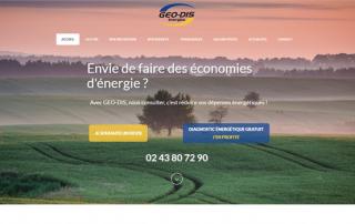 Creation Site Internet Le Mans Geodis Energies
