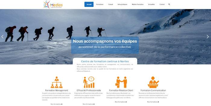 Agence Web Nantes Medios Formation