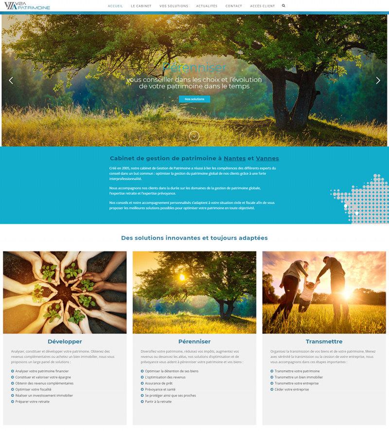 V2A Patrimoine Nantes Vannes Site Web WordPress