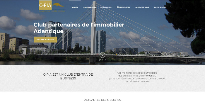 Site Internet Club CPIA Nantes