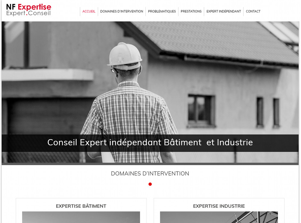 Site Web Nantes NF Expertise
