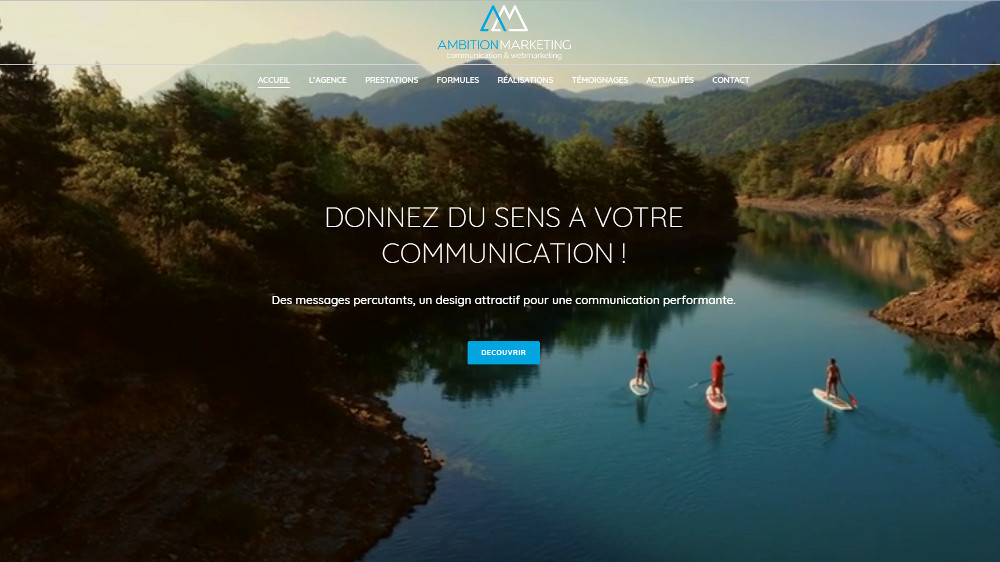Site Internet Agence Marketing Nantes