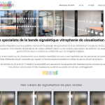 Site Ecommerce Bandes Securites