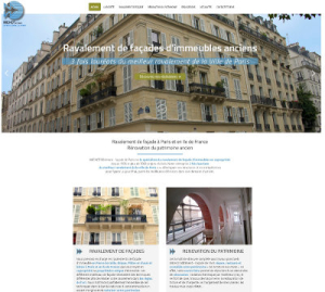 Site Wordpress Paris Michot Batiment