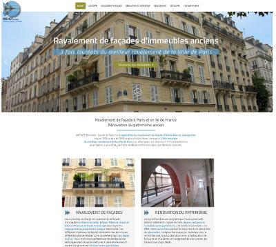 Site Wordpress Paris Michot Batiment