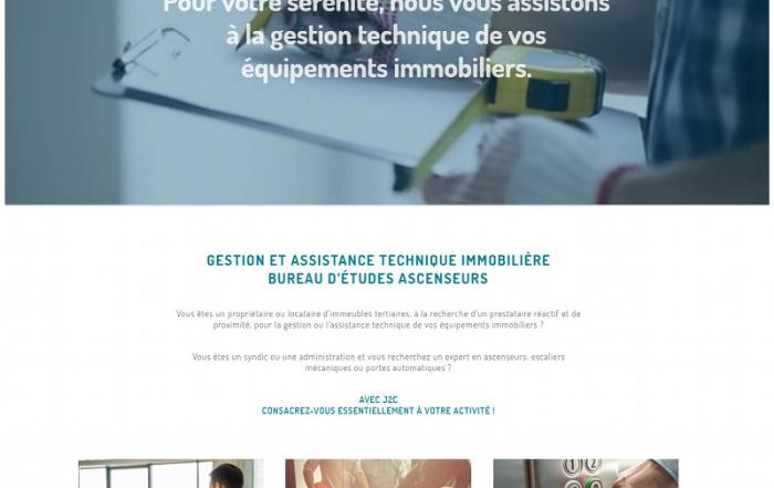 J2C ingenierie creation site internet Nantes