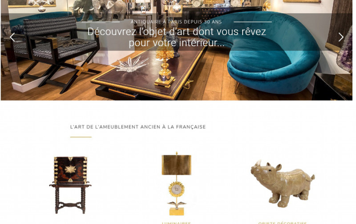 Jean Luc Ferrand Antiquites Paris Web Woocommerce