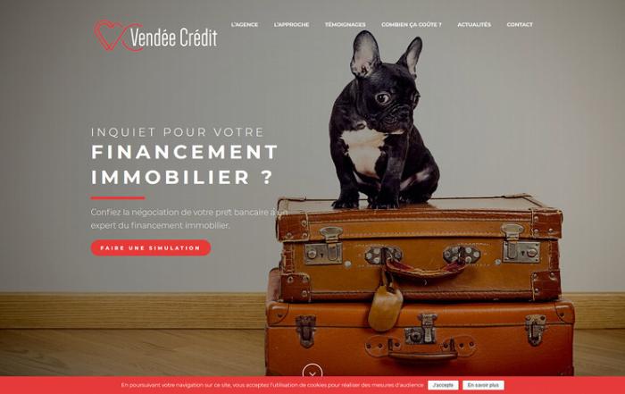 Site wordpress vendee credit