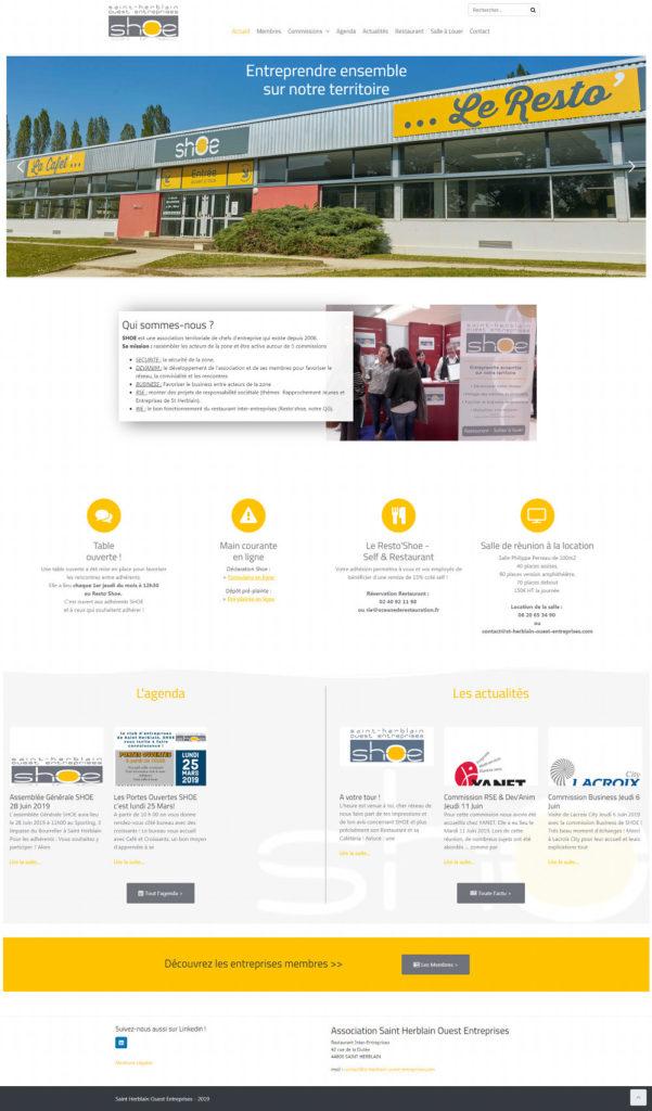 Creation Site Internet Saint Herblain Ouest Entreprises