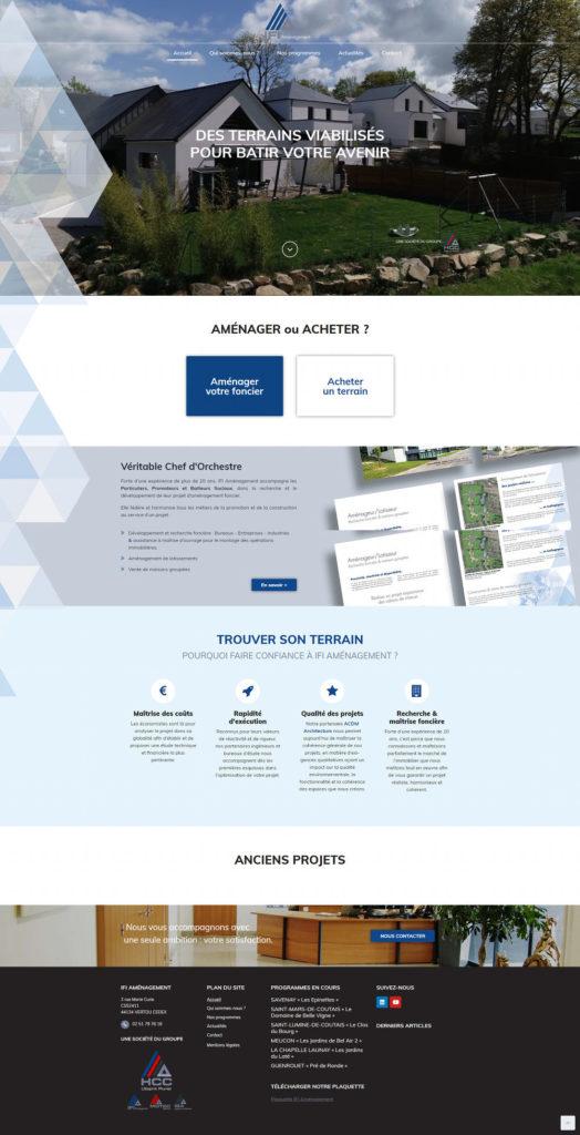 Création site Web Vertou 44 IFI
