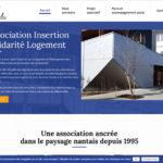 AISL Nantes site internet Association solidarite logement