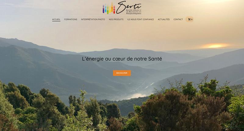 Site web WordPress SERTI