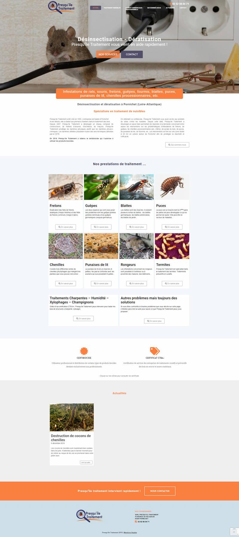 Agence Web Pornichet Presquile Traitement