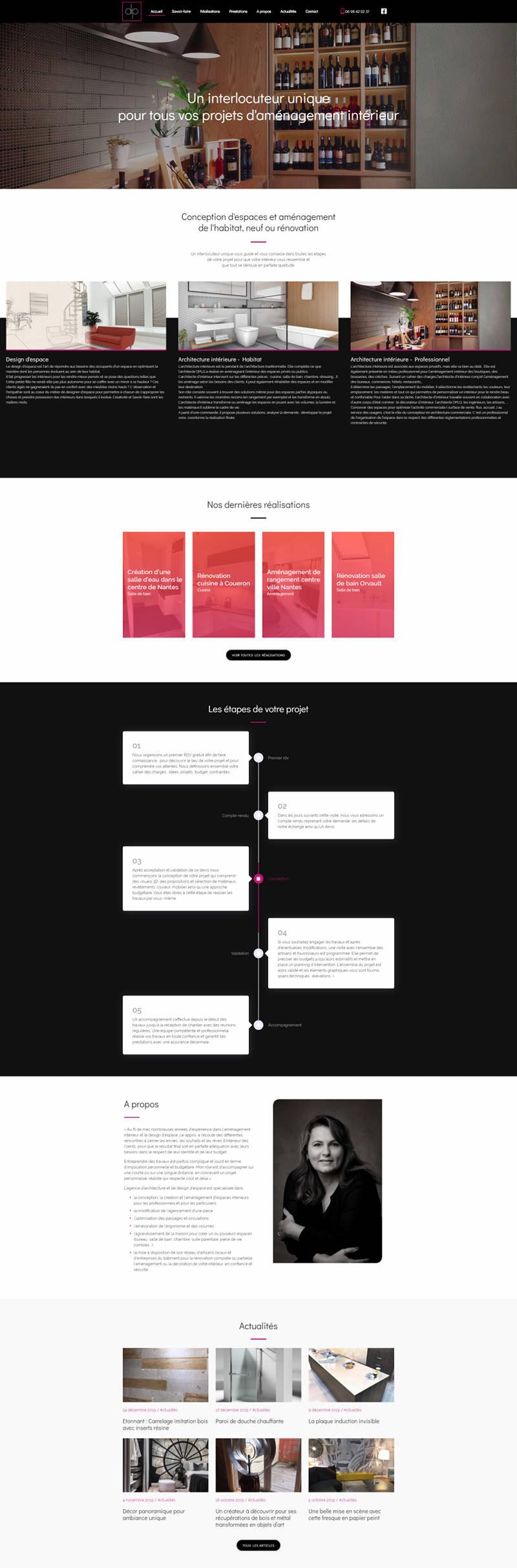 Creation Site Internet WordPress Architecte