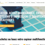 Site Wordpress Ancenis Ouest Photocopieurs