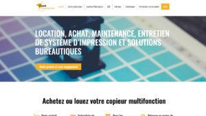 Site Wordpress Ancenis Ouest Photocopieurs